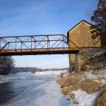 Motor bridge, N. span. Jan 2013