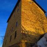 golden light on Mill. Jan 2013