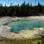 Thermal feature, Yellowstone, 2012