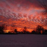 Winter sunset1, Warren, IL