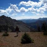 hiking in Yellowstone, WY 2012
