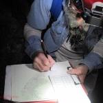 sketch in progress. Carlsbad Caverns NP, NM