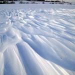 wind sculpted drifts (horz 1). Dec. 2012