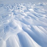 wind sculpted drifts (vert). Dec. 2012