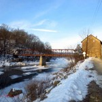 new bridge, Mill (horz). Jan. 2013