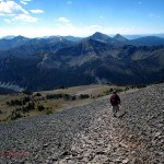 Avalanche Peak Trail1, Yellowstone, WY. Aug. 2012